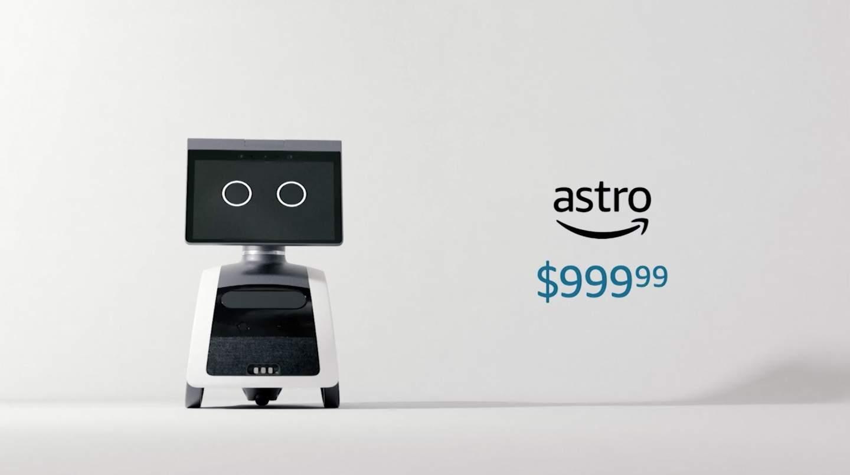 imagen de la pantalla de un celular con letras de - Amazon Astro es un robot doméstico de 1.000 dólares impulsado por Alexa