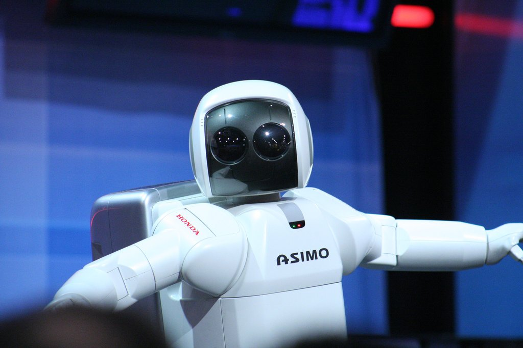 robot asimo de honda  - Taxis voladores, avatares robóticos y espacio: Honda mira al futuro