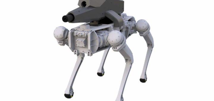 Los perros robóticos tienen su propio rifle de visión nocturna por control remoto